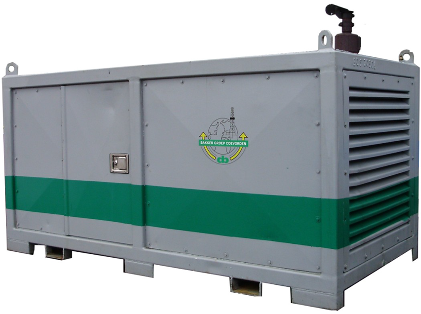 Picture mobile compressor unit