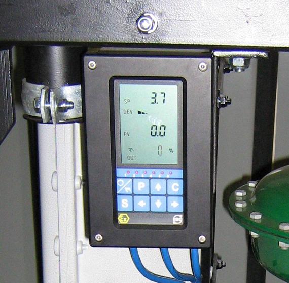 6'' back pressure valve